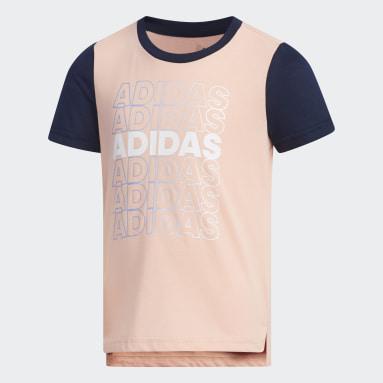 T-shirt Rose Filles Yoga