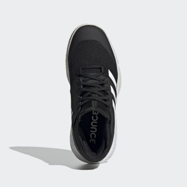 Zapatilla Court Team Bounce Indoor Negro Mujer Netball