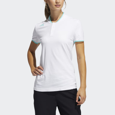 Polo Primeknit Bianco Donna Golf