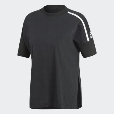 Playera adidas Z.N.E. Negro Mujer Sportswear