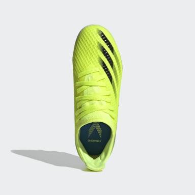 Jungen Fußball X Ghosted.3 MG Fußballschuh Gelb