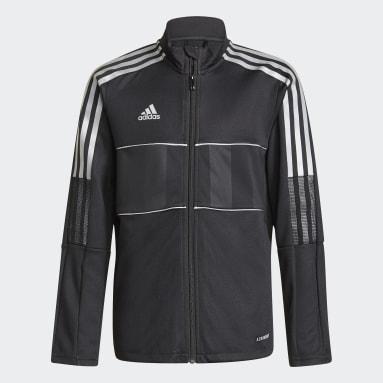 Veste Tiro Reflective noir Adolescents Soccer