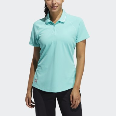 Polo Equipment Primegreen Verde Donna Golf