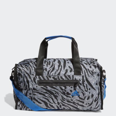 Women Yoga Grey Training ID Duffel Bag