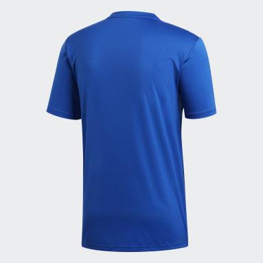 Remera Campeon 19 Azul Hombre Fútbol