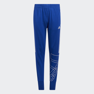 Youth Training Blue Brand Love French Terry Joggers