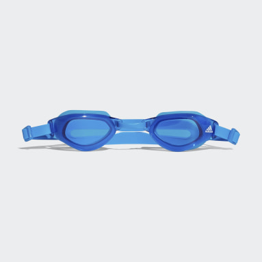 Youth Swim Blue Persistar Fit Unmirrored Junior Goggles
