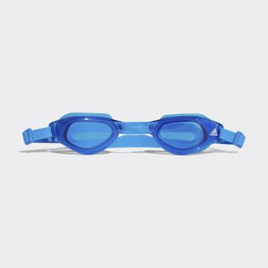 Deti Plávanie modrá Plavecké okuliare Persistar Fit Unmirrored