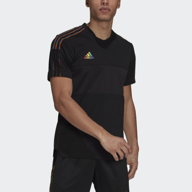 Men Football Black Tiro Pride Jersey