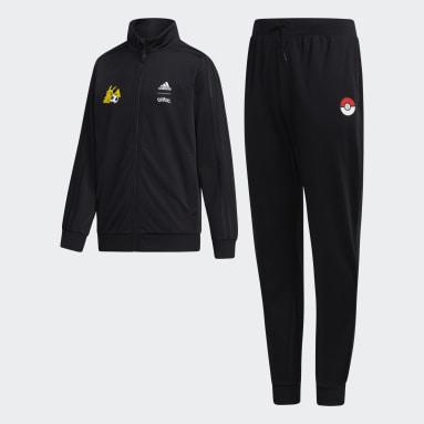 Boys Sport Inspired Black Pokémon Track Suit