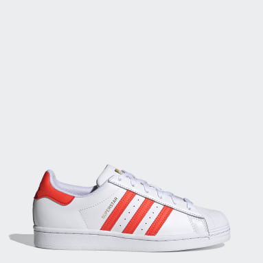 Women's Originals White Superstar Shoes