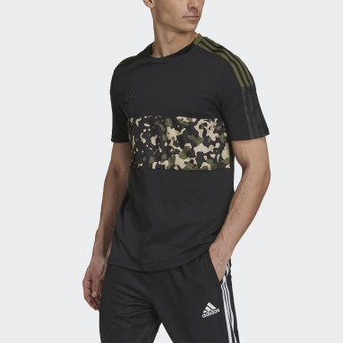 Men Football Black Tiro Graphic Tee