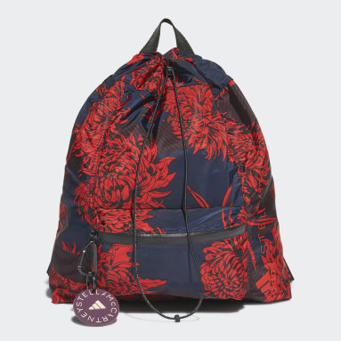 Women adidas by Stella McCartney Multicolour adidas by Stella McCartney Printed Gym Sack