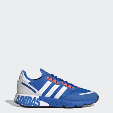 Sapatos ZX 1K Boost Azul Originals