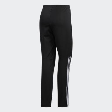 Men's Running Black Run Astro 3-Stripes Tights