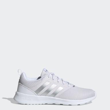 Women Essentials White QT Racer 2.0 Shoes