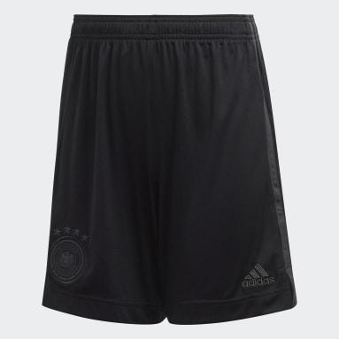 Děti Fotbal černá Venkovní šortky Germany