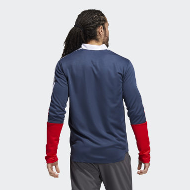 Men Football Blue Tiro Track Jacket