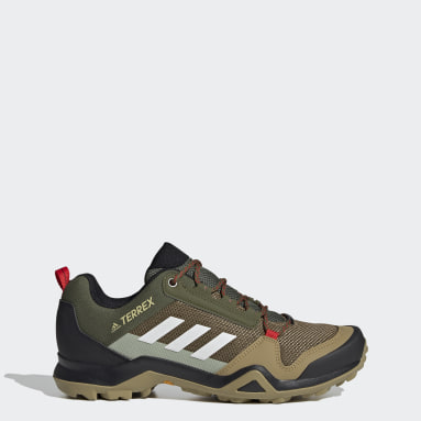 Sapatos de Caminhada AX3 TERREX Verde Homem TERREX