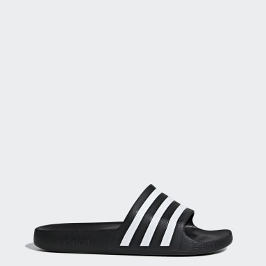 Swimming Black Adilette Aqua Slides