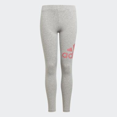 Dívky Sportswear šedá Legíny adidas Essentials
