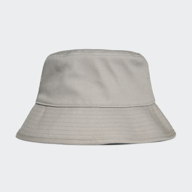 Originals Grey Adicolor Trefoil Bucket Hat