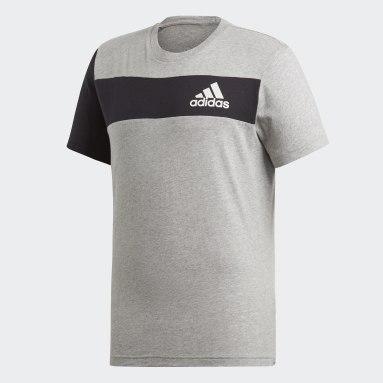 Camiseta Sport ID Cinza Homem Training