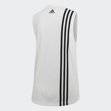 Canotta Must Haves 3-Stripes Bianco Donna Sportswear
