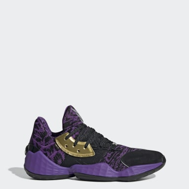 Tenis Harden Vol. 4 Star Wars Lightsaber Purple Negro Hombre Basketball