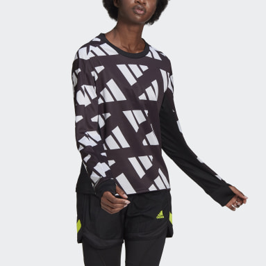 Dam Löpning Svart Own The Run Celebration Sweatshirt