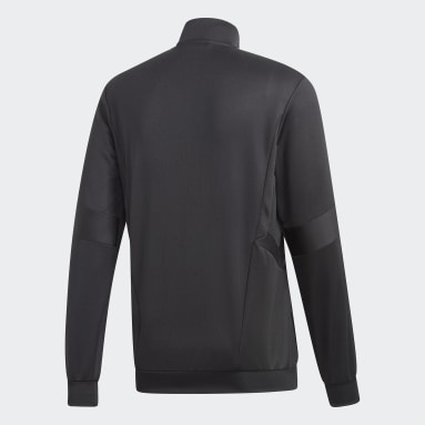Men Gym & Training Black Tiro 19 Training Jacket