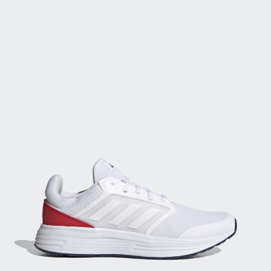 Men Running White Galaxy 5 Shoes