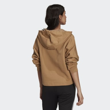 Women Originals Brown R.Y.V. Hoodie
