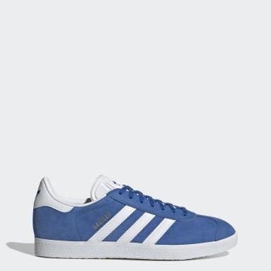 Kvinder Originals Blå Gazelle sko
