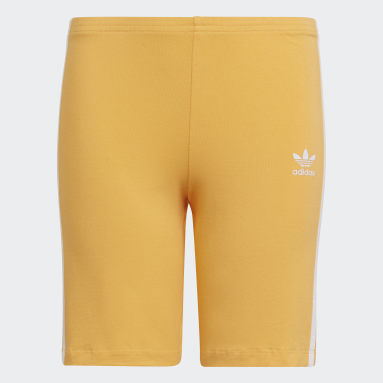 Youth Originals Orange Cycling Shorts