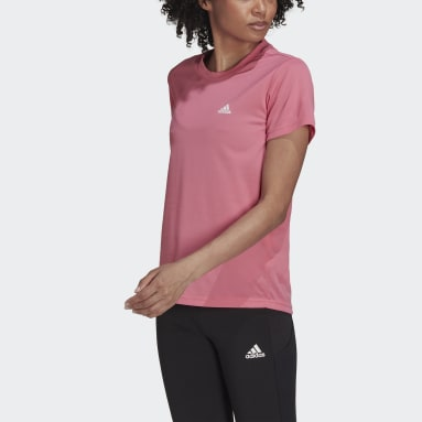 Women's Training Pink AEROREADY Designed 2 Move Sport Tee