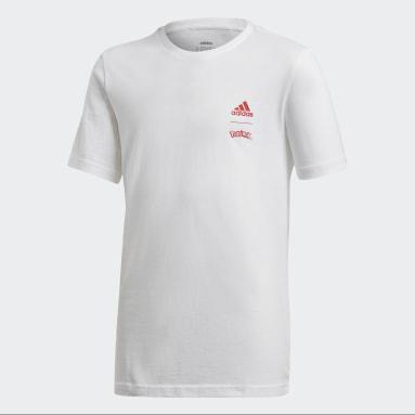 Camiseta Pokémon Branco Meninos Training