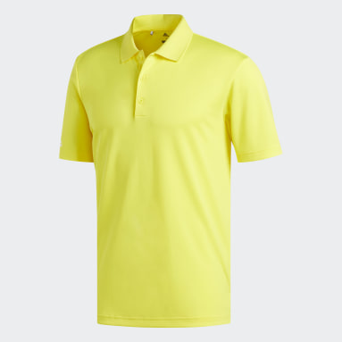 Polo Performance jaune Hommes Golf