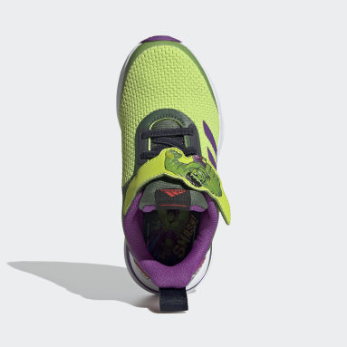 Chaussure FortaRun Super Hero Vert Enfants Running