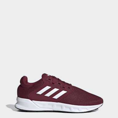 Men Sport Inspired Burgundy Showtheway Shoes