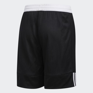 Kinderen Basketbal Zwart 3G Speed Reversible Short