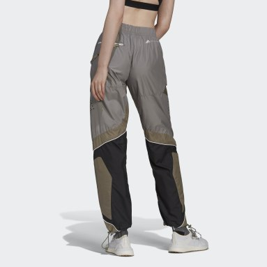 Dames adidas by Stella McCartney grijs adidas by Stella McCartney Training Suit Trainingsbroek