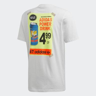 Men Originals White Bodega Poster T-Shirt