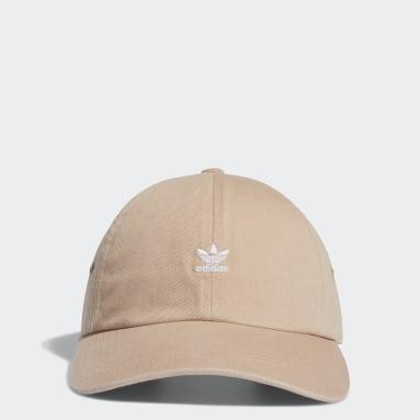Women's Originals Pink Mini Logo Relaxed Hat