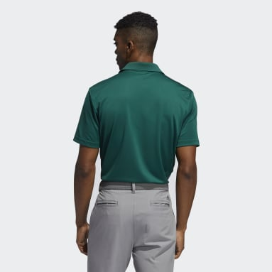 Polo Performance Primegreen Verde Hombre Golf