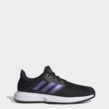 Erkek Tenis Siyah GameCourt Tenis Ayakkabısı