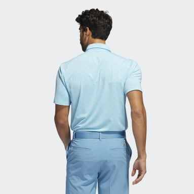 Men's Golf Blue Ultimate365 Printed Polo Shirt