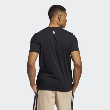 Men Basketball Black Dame Avatar Pocket T-Shirt