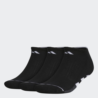Men Training Black Cushioned 2 No-Show Socks 3 Pairs