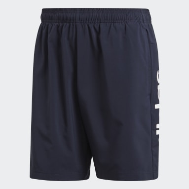 Shorts Essentials Linear Chelsea Azul Homem Training